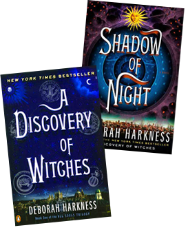 "Alchemy, Vampires, Witches, and Time Travel: Harkness Wows Readers with ""All Souls"" Triology"