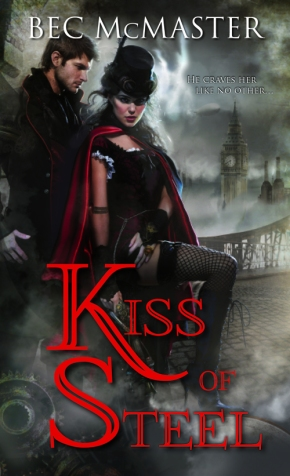 Fans of Carriger Will Love McMaster's Kiss ofSteel