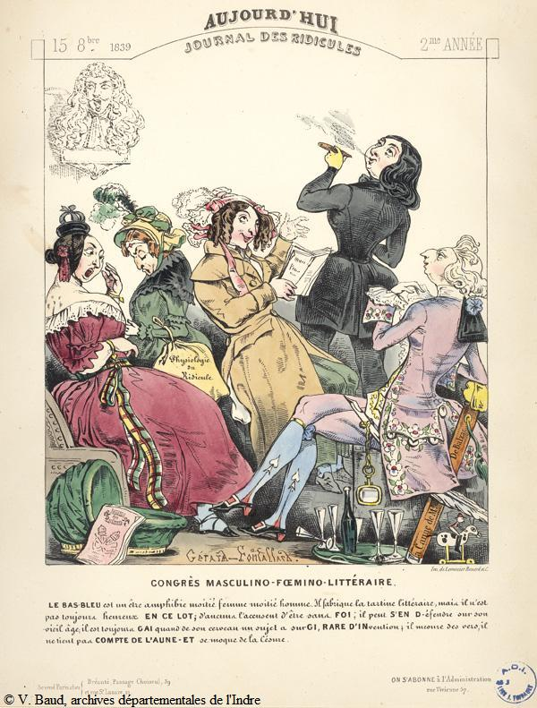 caricature2 george sand